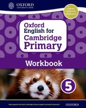 Paperback Oxford English for Cambridge Primary Workbook 5 Book