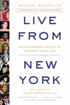 Paperback Live from New York : An Uncensored History of Saturday Night Live Book