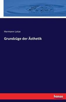 Paperback Grundz?ge der ?sthetik [German] Book