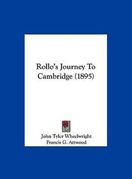 Hardcover Rollo's Journey to Cambridge Book