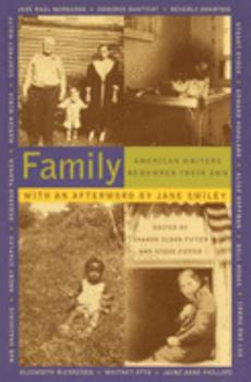 Family: American Writers Remember Their Own 067977274X Book Cover
