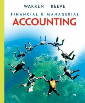 Hardcover Financial and Managerial Accounting Book