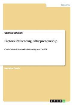 Paperback Factors Influencing Entrepreneurship Book