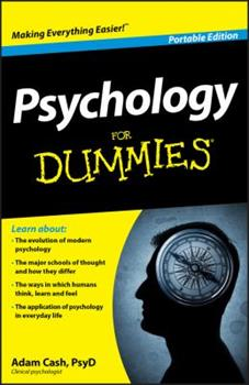 Psychology for Dummies, Portable Edition 1119945577 Book Cover