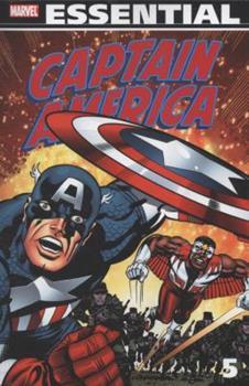 Essential Captain America, Vol. 5 - Book  of the Essential Marvel