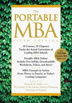 The Portable MBA 0470481293 Book Cover