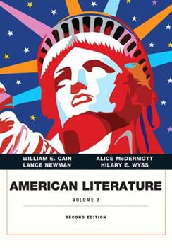 American Literature, Volume II (Penguin Academics Series) (Penguin Academics) 0321116240 Book Cover