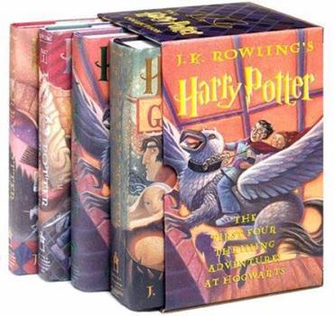 Harry Potter Boxed Set Books 1-4