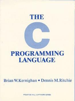 Paperback The C Programming Language Book