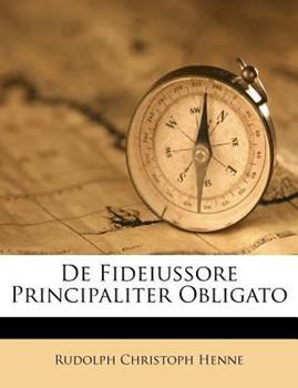 Paperback De Fideiussore Principaliter Obligato Book