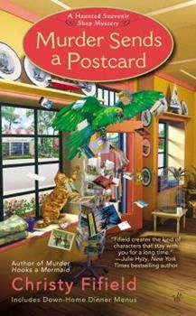Murder Sends a Postcard 0425252299 Book Cover