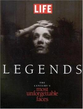 Hardcover Life Legends : The Century's Most Unforgettable Faces Book