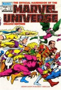 Essential Official Handbook of the Marvel Universe - Deluxe Edition, Vol. 1 - Book  of the Essential Marvel