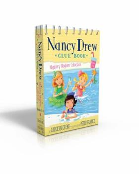 Nancy Drew Clue Book Mystery Mayhem Collection Books 1-4: Pool Party Puzzler; Last Lemonade Standing; A Star Witness; Big Top Flop - Book  of the Nancy Drew Clue Book