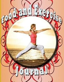 Paperback Food and Exercise Journal Book