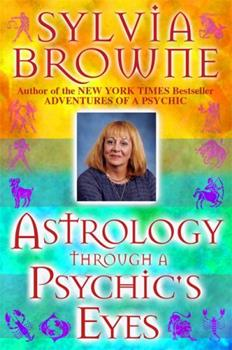 Paperback Astrology Through a Psychic's Eyes Book