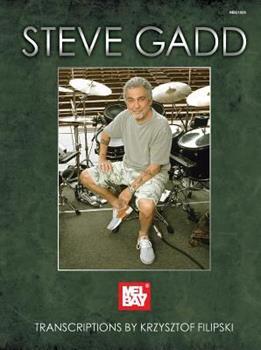 Spiral-bound Steve Gadd Book