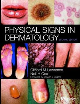 Physical Signs in Dermatology 0723416796 Book Cover