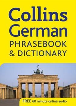 Paperback Collins German Phrasebook and Dictionary (Collins Gem) Book
