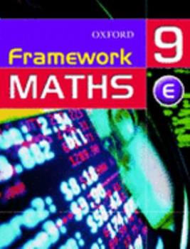 Framework Maths: Extension Students' Book Year 9 0199148600 Book Cover