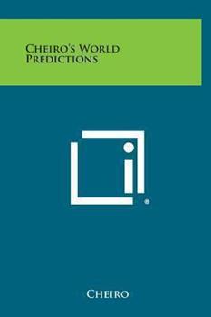 Hardcover Cheiro's World Predictions Book