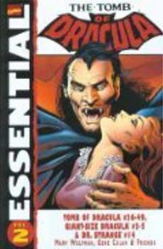 Essential Tomb of Dracula, Vol. 2 (Marvel Essentials) - Book  of the Essential Marvel