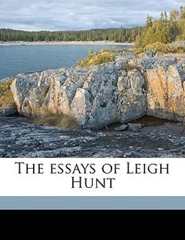 Paperback The Essays of Leigh Hunt Book