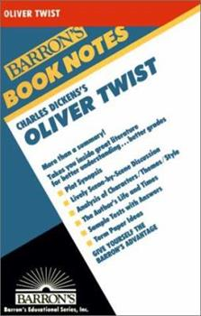 Oliver Twist (Barron's Book Notes) 0764191616 Book Cover
