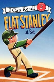 Flat Stanley at Bat 0061430129 Book Cover
