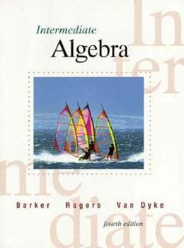 Intermediate Algebra 0030091195 Book Cover