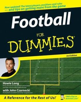 Paperback Football for Dummies Book