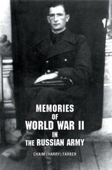 Paperback Memories of World War II in the Russian Army Book