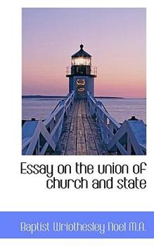 Paperback Essay on the Union of Church and State Book