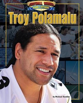Troy Polamalu 1617723126 Book Cover