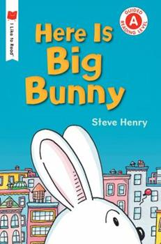 Paperback Here Is Big Bunny Book