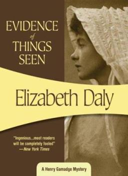 Evidence of Things Seen 0553236695 Book Cover