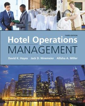Hotel Operations Management (2nd Edition) 0130995983 Book Cover