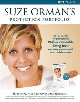 Suze Orman's Will & Trust Kit: The Ultimate Protection Portfolio 1401901182 Book Cover