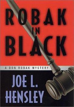 Robak in Black: A Don Robak Mystery (Don Robak Mysteries) 0312241097 Book Cover