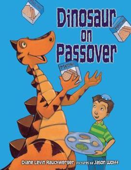Paperback Dinosaur on Passover Book