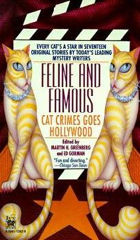 Paperback Feline and Famous : Cat Crimes Goes Hollywood Book