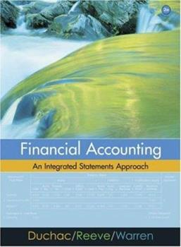 Financial Accounting: An Integrated Statements Approach 0324312113 Book Cover