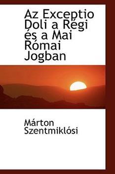 Paperback AZ Exceptio Doli A R GI ?'S a Mai R Mai Jogban Book