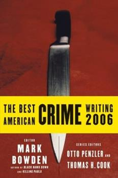 The Best American Crime Writing 2006 (Best American Crime Writing) 0060815523 Book Cover