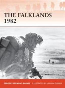 The Falklands 1982: Ground operations in the South Atlantic - Book #244 of the Osprey Campaign