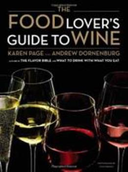 Food Lover's Guide to Wine 0316045136 Book Cover