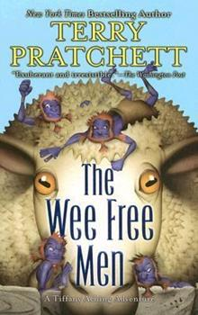 The Wee Free Men 0060012382 Book Cover