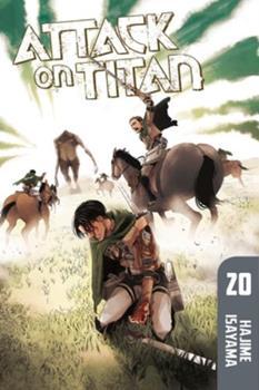 Paperback Attack on Titan, Volume 20 Book