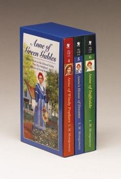 Anne of Green Gables Boxed Set, Vol. 2 (Anne of Ingleside, Anne's House of Dreams, Anne of Windy Poplars) - Book  of the Anne of Green Gables