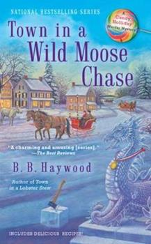 Town in a Wild Moose Chase 0425246175 Book Cover